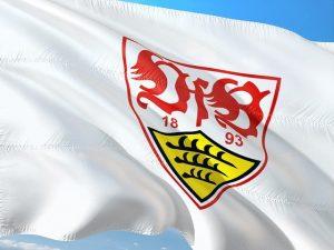 Fahne des VfB Stuttgart